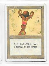 ROD of RUIN  - MAGIC the GATHERING = Discounts when you buy more cards!