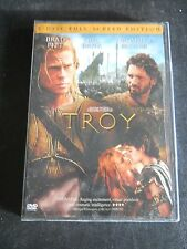 Troy DVD, 2005 2-Disc Set Full Screen Edition Brad Pitt BRAND NEW FREE SHIPPING