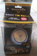 Sensor Brite LED Night Light 360 Motion Activated Sensing Battery Power OPEN PCK