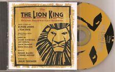 The Lion King - original Broadway Cast - Elton John / Tim Rice