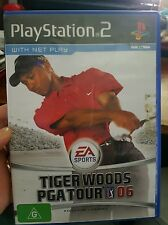 Tiger Woods PGA Tour 06  PLAYSTATION 2 PS2 - FREE POST