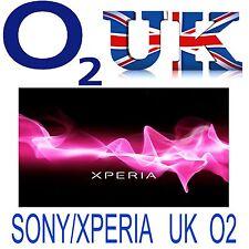UNLOCK CODE SONY XPERIA XZ1 L2 L1 XA2 ULTRA XZ2 COMPACT XZ2 XZs XZ PREMIUM UK O2