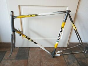 Concorde Astore Columbus Retro Road Race Cycling Bike Frame Made in Italy Steel