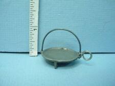 2 Miniature Cannonball Andirons Circa 1840 B104 Olde Mountain  1//12th