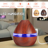 300ML USB LED Light Aroma Ultrasonic Air Humidifier Essential Oil Diffuser Gifts
