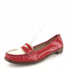 12414166a40 Kate Spade New York Phoenix Red Patent Leather Penny Loafers Womens Size  6.5 M