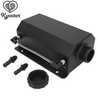 Universal 2L Coolant Radiator Overflow Recovery Water Tank Bottle Aluminum Black