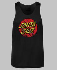 Santa Cruz Distressed Dot Logo Singlet