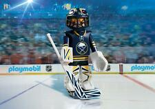 Playmobil #9179 NHL Buffalo Sabres Goalie - New Factory Sealed