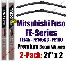 Wiper Blades 2-Pack Premium - fit 2005-2008 Mitsubishi Fuso FE-Series - 19210x2