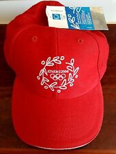 Olympic Games Athens 2004 Red Hat - Cap - NWT
