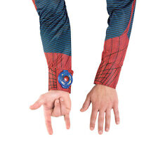 Amazing Spider-Man Light-Up Adult Deluxe Costume Web Shooter Disguise 42526