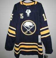 Authentic Adidas NHL Buffalo Sabres #15 Hockey Jersey New Mens Sizes $190