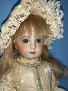 "Juneau French 16"" Reproduction Doll Bisque Jointed Composition Body"