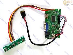 HDMI VGA LCD Controller Board Monitor Kit for B133HTN01.1 1920X1080 EDP panel