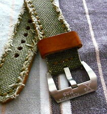 Edle Schließe Buckle 26mm X° FLOTTIGLIA MAS  Staps Uhren Armbänder PAM