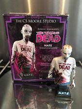 The Walking Dead Nate Zombie estatua el CS Moore Studio Comic Edicion Limitada
