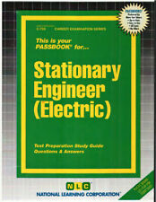 Stationary Engineer Electric Test Practice Passbook Upcoming Civil Service Exam