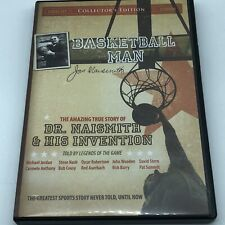 """Basketball Man"" 2-DVD Collector's Edition 2007 OOP Dr James Naismith BB History"