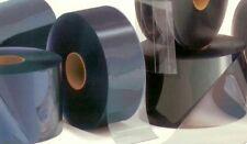 """Clear Plastic Vinyl Sheet Door Strip 8"""" Wide 75' Ft .080"""" Curtain Cooler Freezer"""