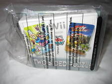 *NEW NIP HTF* Wii Two-Sided Puzzle 2007 Wendy's Kids Meal Happy Toy Nintendo