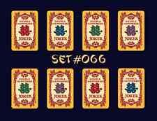 Mah Jongg Jong Mahjong Joker Stickers Happiness - Set #066  ** Free Shipping **