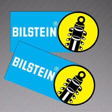 2 Bilstein Shock Absorbers Vinyl Stickers Auto Moto Sport Racing Car Bike B 14