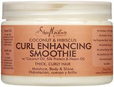 Shea Moisture Organic Curl Enhancing Smoothie Coconut & Hibiscus 12 oz 340g