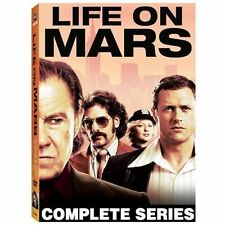 Life On Mars (DVD, 2009, 4-Disc Set) COMPLETE SERIES, W/SLIPCOVER, NEW