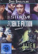 DVD NEU/OVP - Drei Spielfilme - Science Fiction - Selection 2 - Yesterday u.a.