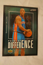 NBA CARD - Upper Deck - Point Of Difference Series - Chauncey Billups - Pistons.