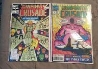 The Infinity Crusade #1 & #3 1st Print [Marvel Comics, 1993]
