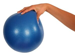 """1x Mambo Max 26cm 10"""" Soft Over Ball Pilates Yoga Physio Gym Physio Abs BLUE New"""