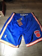New Authentic Mitchell & Ness 1991-1992 New York Knicks Swingman Shorts Large