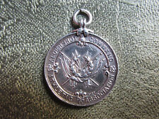 Silver Fob/Médaille -- Aldershot Command Athletic Association -- militaire int.