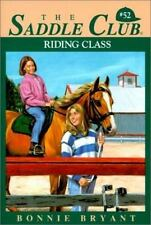 Riding Class (Saddle Club)-ExLibrary