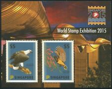 SINGAPUR SINGAPORE 2012 Vögel Birds Greifvogel Uccelli Block 171A** MNH