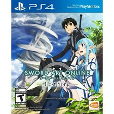 Sword Art Online Lost Song Jeu PS4-NEUF!