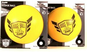 2 Ct Franklin Future Champs Official Super Skin 6 In Yellow Doge Ball Age 3 & Up