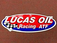 LUCAS OIL Products Sticker, Racing, ATF, LARGE,  RARE Sticker, Series 814-31618