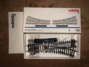 Marklin 2261 Pair of K Track Turnouts. NIB