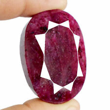 Enhanced Opaque Loose Natural Rubies