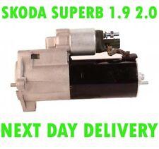 SKODA SUPERB 1.9 2.0 TDI 2005 2006 2007 2008 FULLY REMANUFACTURED STARTER MOTOR