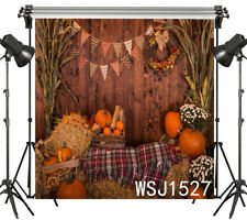 5X3ft Fall Havest Photo Backdrop Photography Background Vinyl Studio Props NEW!!