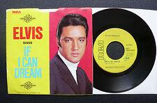 "7"" Elvis Presley - If I Can Dream - USA RCA Promo"