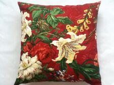BRUNSCHWIG & FILS LIANE FLORAL Pillow Cushion Cover 100% cotton 18''x 18''  #1