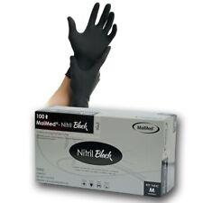 MaiMed Nitril Black Einmalhandschuhe 100 Stück Größe M