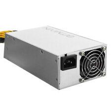 US 1600W Bitmain APW3++ PSU Antminer Bitcoin Miners S9 S7 L3+ D3 W Power Supply