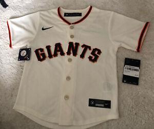 BNWT Nike Kids GIANTS Baseball Jersey 5-6yrs
