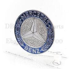 MERCEDES Emblem + Druckknopf  W107 R107 SL W126 Coupe Firmenzeichen Motorhaube